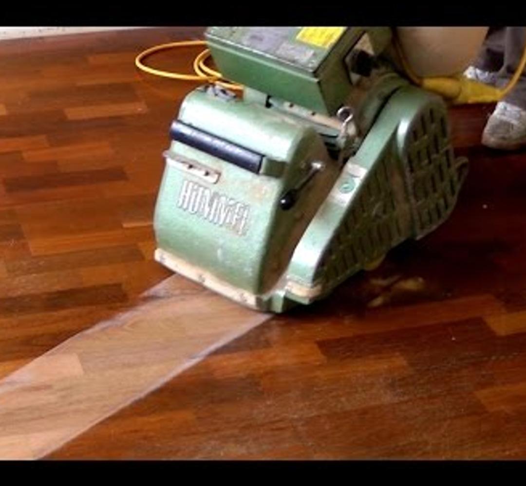 Re-sanding Hardwood floors | KTW Hardwood